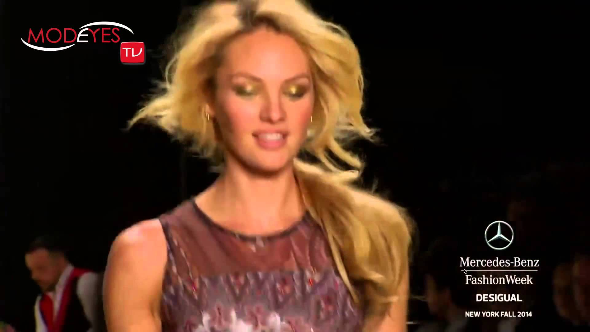 DESIGUAL WOMAN FASHION SHOW FALL WINTER 2015 (HD)