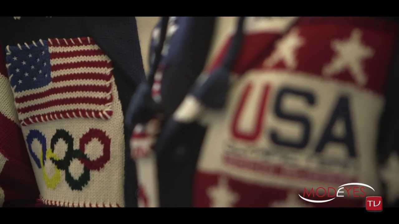RALPH LAUREN for OLYMPIC GAMES IN SOCHI 2014 (INTERVIEWS AND FITTINGS)