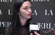 TOP MODEL MARIACARLA BOSCONO at LA PERLA  OPENING MILAN PARTY 2014