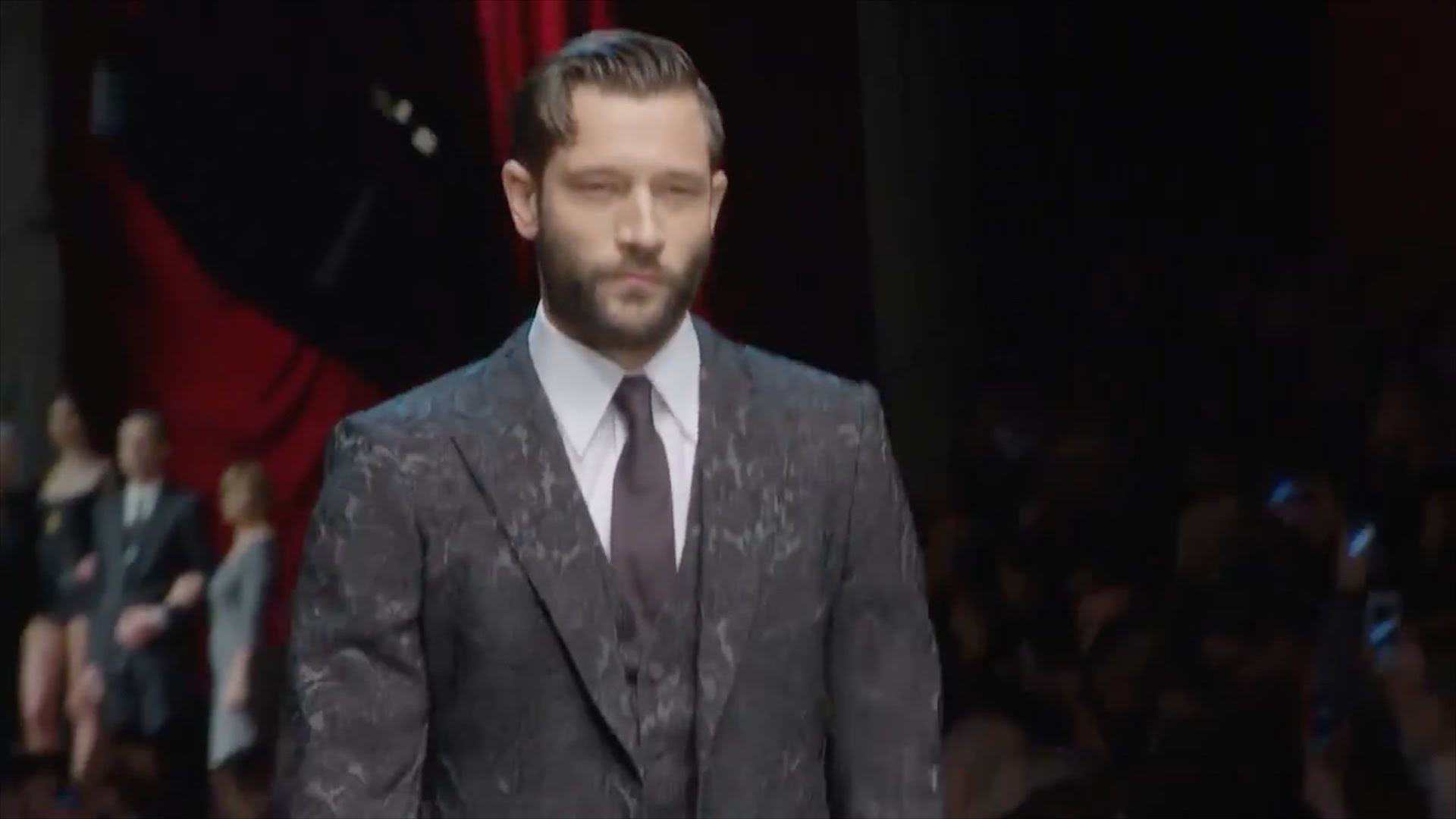 DOLCE   GABBANA MEN F W 2015-16 ( fashion show ) HD  4f9ada37885