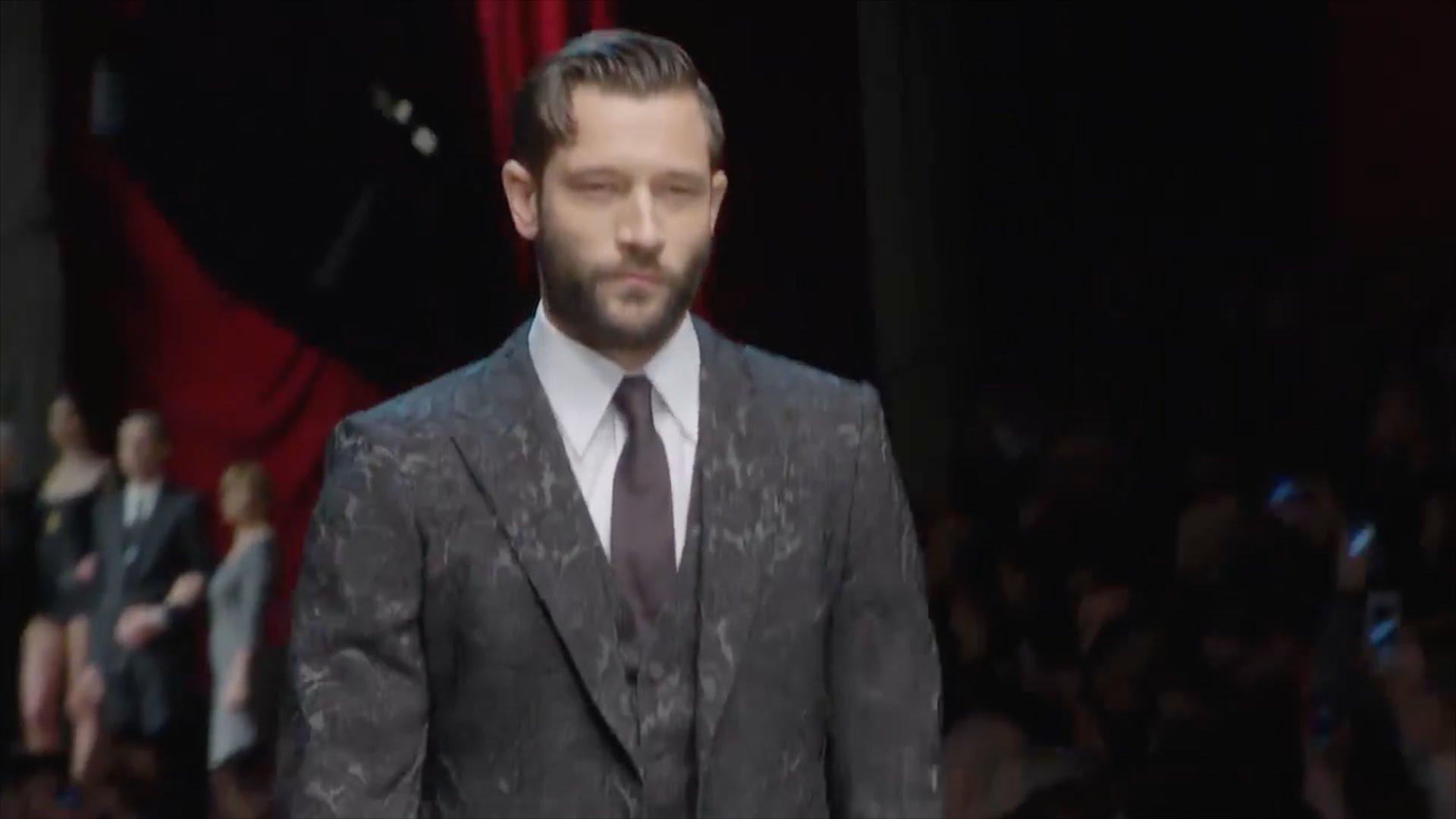DOLCE & GABBANA MEN F/W 2015-16 ( fashion show ) HD