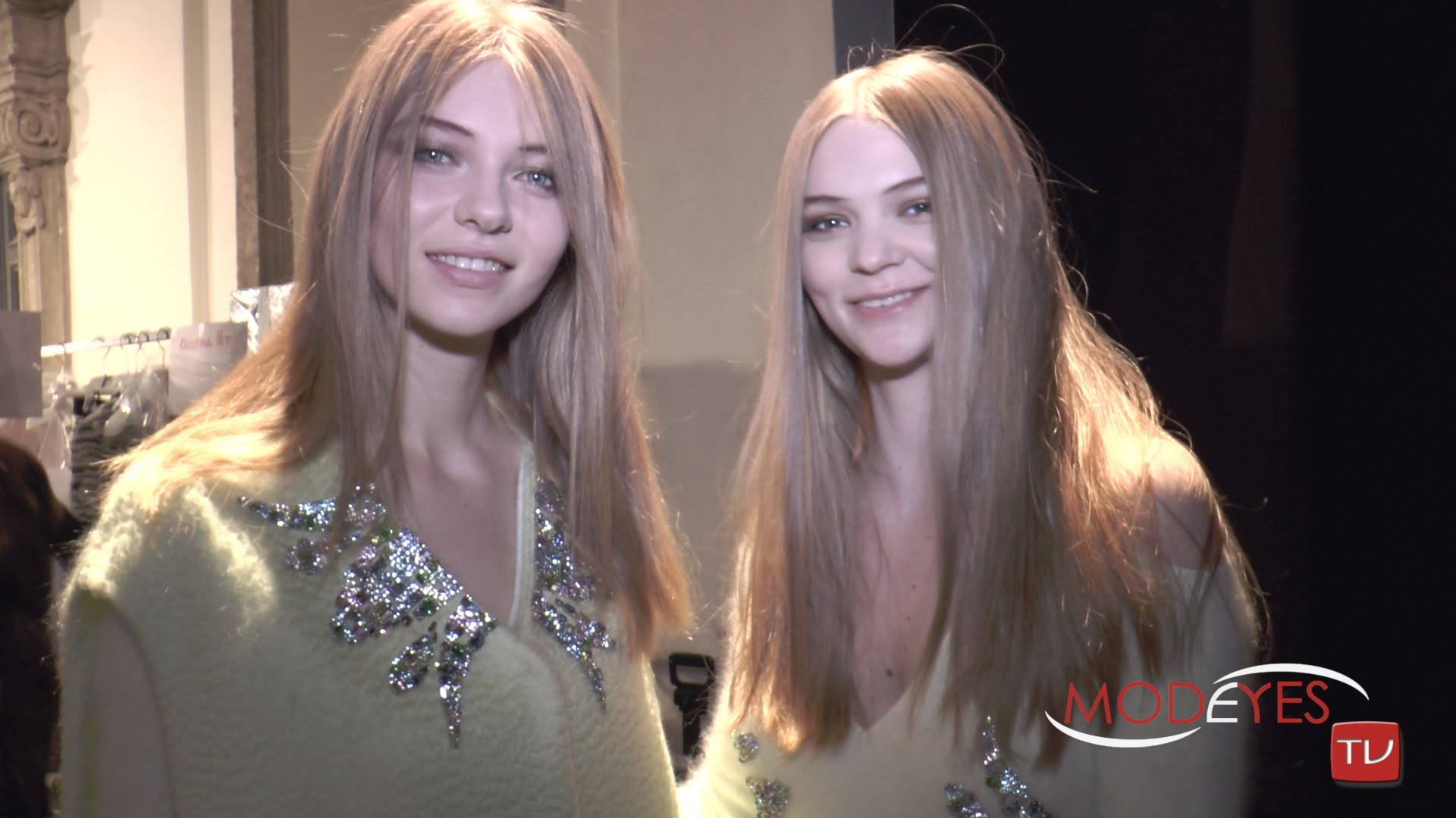 GENNY Fall Winter 2015-16 Exclusive from Fashion Show, Backstage and Runway