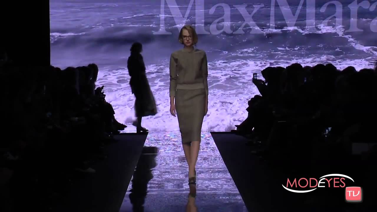 MAX MARA FALL WINTER 2015 2016 FULL FASHION SHOW HD