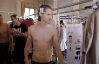 CORNELIANI SUMMER 2016 MAN FASHION SHOW (Backstage + Runway + Interview )