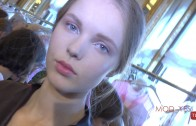 BEAUTY TALK: CYNTHIA RIVAS @ LUISA BECCARIA S/S 2016 – Exclusive from backstage