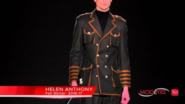 HELEN ANTHONY |  | FASHION SHOW MAN FALL WINTER 2016/17 | Exclusive Backstage