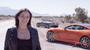 MICHELLE RODRIGUEZ, FAST & FURIOUS WITH JAGUAR SUPERCAR