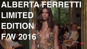 ALBERTA FERRETTI Limited Edition | FALL WINTER 2016 | FULL FASHION SHOW
