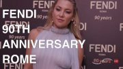 FENDI 90th ANNIVERSARY | HIGHLIGHTS and Exclusive Interviews