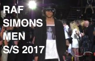 RAF SIMONS | MEN FASHION SHOW SUMMER 2017 | EXCLUSIVE by MODEYES TV