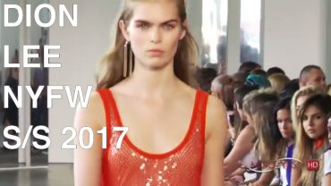 DION LEE   SPRING SUMMER 2017   FULL FASHION SHOW