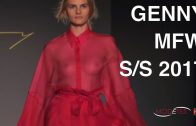 GENNY | SPRING SUMMER 2017 | BACKSTAGE + INTERVIEW + FASHION SHOW | Exclusive by Modeyes TV