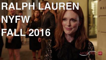RALPH LAUREN | FALL 2016 | CELEBRITIES AND RUNWAY AT NYFW