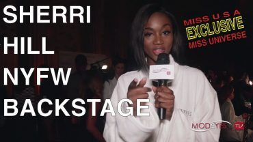 SHERRI HILL | BACKSTAGE  EXCLUSIVE |  MISS USA AND MISS UNIVERSE INTERVIEWS