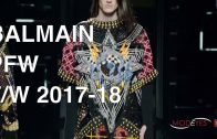 BALMAIN | MEN FALL WINTER 2017-2018 | FASHION SHOW