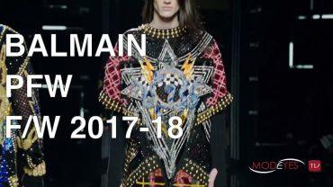 BALMAIN | MEN FALL WINTER 2017-2018 | FASHION SHOW