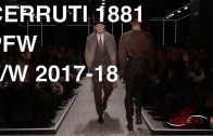 CERRUTI 1881 | MEN FALL WINTER 2017-2018 | FASHION SHOW
