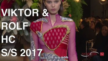 VIKTOR & ROLF   HAUTE COUTURE SPRING SUMMER 2017   FASHION SHOW