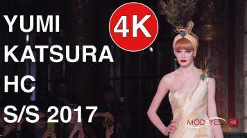 YUMI KATSURA | HAUTE COUTURE SPRING SUMMER 2017 | FASHION SHOW |4K