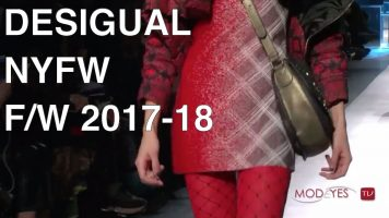 DESIGUAL | FALL / WINTER 2017-18 | LIVE FASHION SHOW