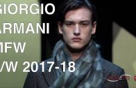 GIORGIO ARMANI | FALL WINTER 2017 – 2018 | FASHION SHOW