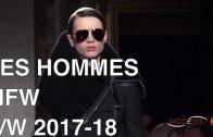 LES HOMMES   FALL WINTER 2017 – 2018   FASHION SHOW