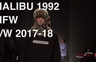 MALIBU 1992 | FALL WINTER 2017 – 2018 | BACKSTAGE + FULL FASHION SHOW