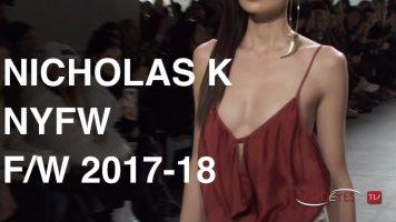 NICHOLAS K   FALL WINTER 2017-2018   FASHION SHOW