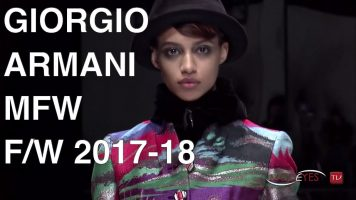 GIORGIO ARMANI | FALL WINTER 2017 2018 | FULL FASHION SHOW HD