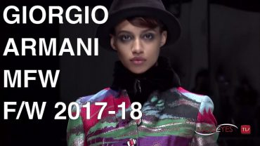 GIORGIO ARMANI   FALL WINTER 2017 2018   FULL FASHION SHOW HD