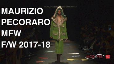 MAURIZIO PECORARO | WOMAN FALL WINTER 2017 – 2018 | FULL FASHION SHOW HD