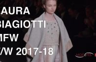 LAURA BIAGIOTTI | F/W 2017-18 | EXCLUSIVE INTERVIEW | FASHION SHOW