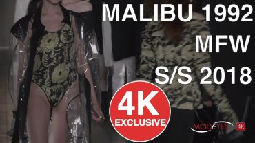 MALIBU 1992 | SPRING SUMMER 2018 | FASHION SHOW |   UHD 4K
