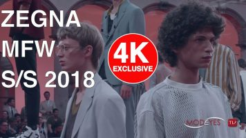 ZEGNA | MAN SPRING SUMMER 2018 | EXCLUSIVE FASHION SHOW | UHD – 4k