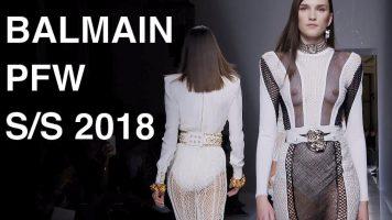 BALMAIN | SPRING SUMMER 2018 | FASHION SHOW