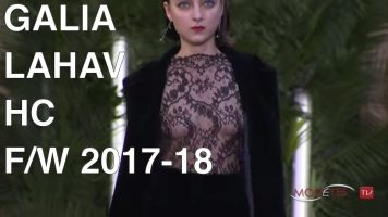 GALIA LAHAV | FALL WINTER 2017/18 | HAUTE COUTURE FASHION SHOW | EXCLUSIVE