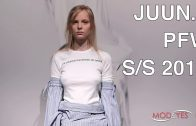 JUUN.J | SPRING SUMMER 2018 | FASHION SHOW