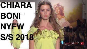 CHIARA BONI – LA PETITE ROBE | SPRING SUMMER 2018 | NEW YORK FASHION SHOW