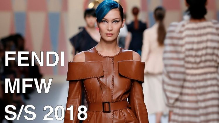 FENDI | SPRING SUMMER 2018  | FASHION SHOW FHD