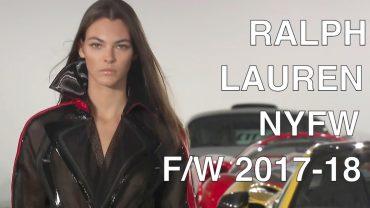 RALPH LAUREN | FALL 2017 | FASHION SHOW | EXCLUSIVE