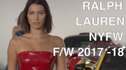 RALPH LAUREN |  FALL 2017 SEE NOW BUY NOW | INTERVIEWS –  HIGHLIGHTS – RUNWAY – Exclusive