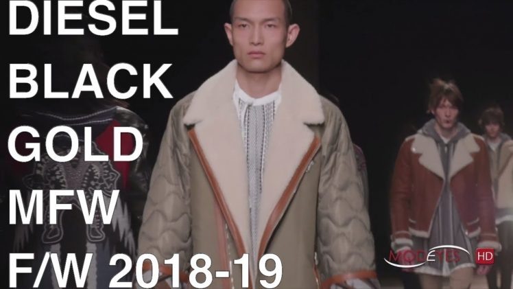 DIESEL BLACK GOLD | FALL-WINTER 2018-19 | FASHION SHOW EXCLUSIVE