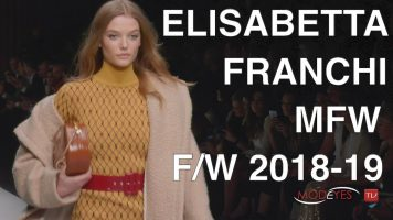 ELISABETTA FRANCHI | FALL WINTER 2018-19 | EXCLUSIVE INTERVIEW + BACKSTAGE + FASHION SHOW