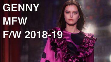GENNY | FALL WINTER 2018-19 | FULL FASHION SHOW