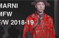 MARNI | FALL WINTER 2018-19 | FULL FASHION SHOW