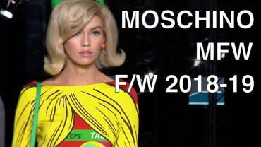 MOSCHINO | FALL WINTER 2018-19 | FULL FASHION SHOW