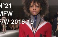 N°21 | FALL WINTER 2018-19 | FULL FASHION SHOW
