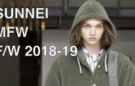 SUNNEI | FALL WINTER 2018-19 | FULL FASHION SHOW