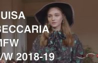 LUISA BECCARIA | FALL WINTER 2018 – 19 | FASHION SHOW EXCLUSIVE