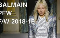 BALMAIN | FALL WINTER 2018-19 | FULL FASHION SHOW